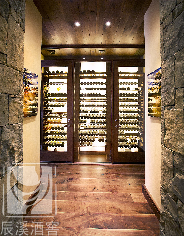 2019年最新颖的酒窖设计和定制酒架设计